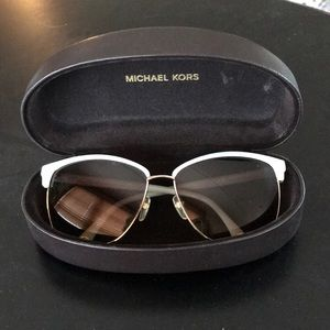 """Michael Kors """"Griffin"""" Sunglasses with hard case"""